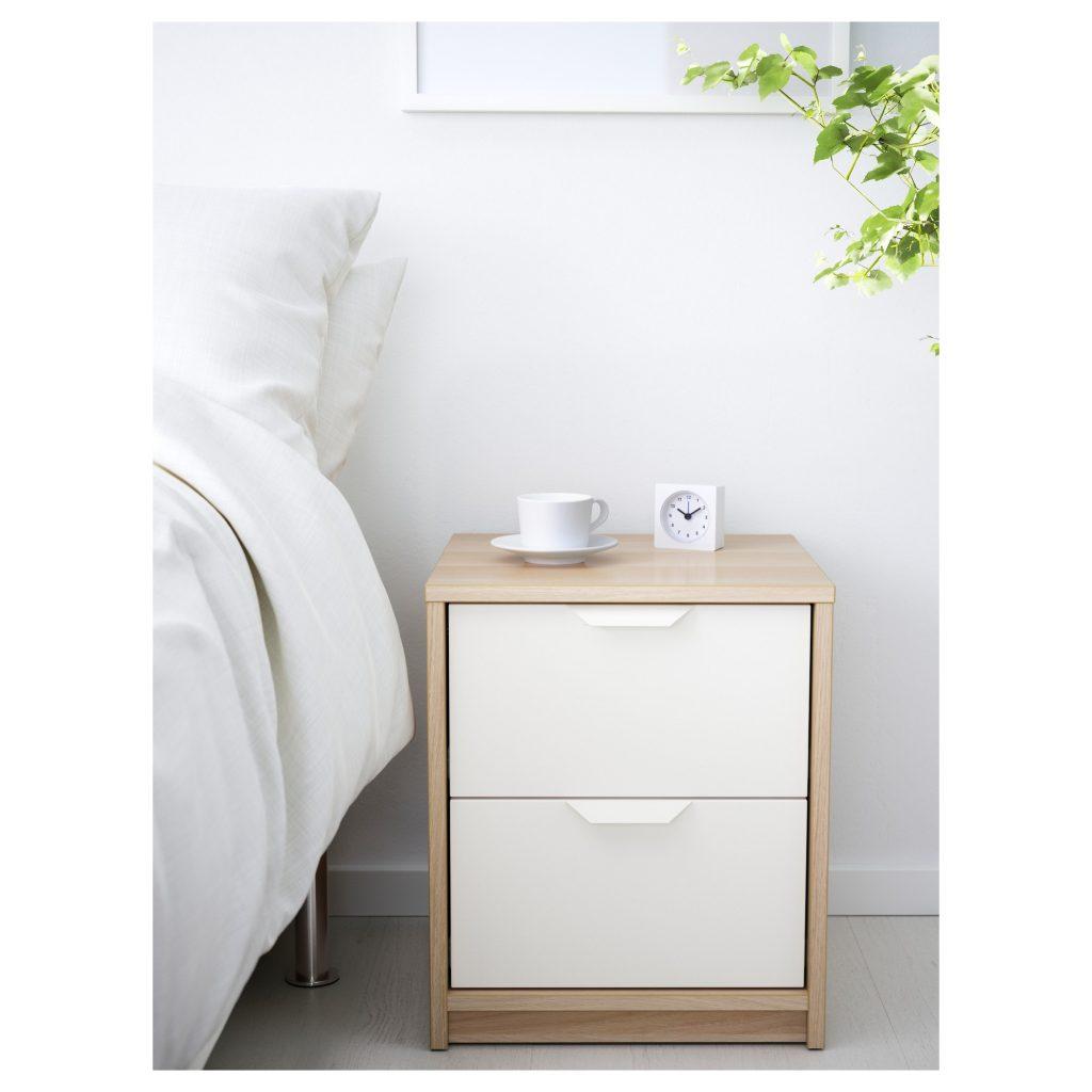 ASKVOLL 2-fiókos szekrény - IKEA
